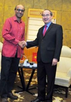 Tăng cường hợp tác Việt Nam - Singapore