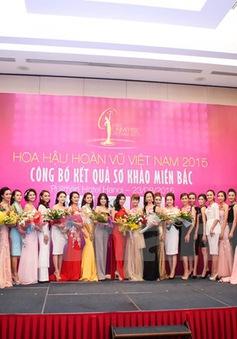 Lộ diện top 35 thí sinh Hoa hậu Hoàn vũ Việt Nam 2015 khu vực miền Bắc