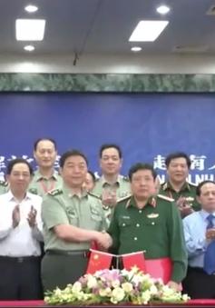 Giao lưu hữu nghị Quốc phòng biên giới Trung Quốc - Việt Nam