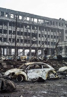 Vụ nổ ở Thiên Tân (Trung Quốc) là do... lính cứu hỏa?