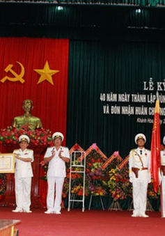 40 năm thành lập vùng 4 Hải quân