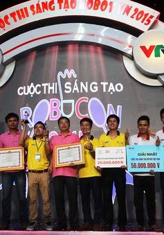 Xem lại trận đấu cuối cùng của Robocon Việt Nam 2015