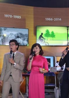 Các thế hệ MC hội ngộ dịp kỷ niệm 45 năm VTV