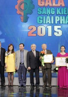 Gala Sáng kiến - Giải pháp 2015: Tôn vinh sáng tạo Việt