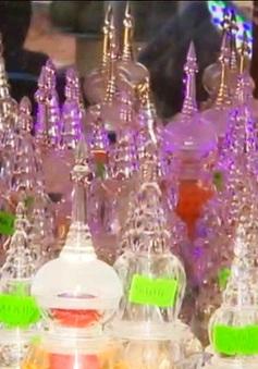 Lễ chiêm bái 100 bảo tháp xá lợi Phật và thánh tăng