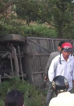 Xe Phương Trang rơi xuống hố, một hành khách tử vong