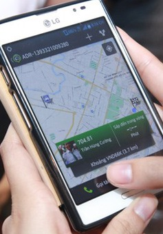 Phần mềm đặt xe thông qua smartphone