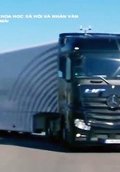 Thử nghiệm xe tải tự hành trên đường cao tốc