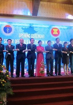 Kết thúc Hội nghị các quan chức cấp cao về phát triển y tế ASEAN