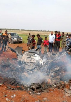 Máy bay Su-22 của Syria bị bắn hạ, phi công bị bắt