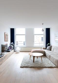 Tận hưởng phong cách tối giản trong căn hộ ngập tràn ánh sáng