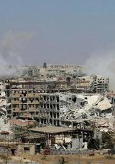 Phiến quân ra hàng quân đội Syria tại thành phố Aleppo