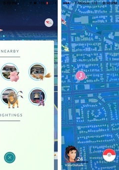 Pokémon GO cập nhật tính năng theo dấu Pokémon ở gần