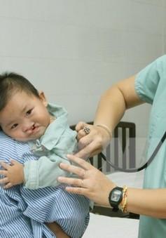 700 trẻ sinh ra có một trường hợp bị khe hở môi, hàm ếch