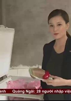 Gửi đơn khiếu nại, VTV24 bác lời tố cáo dàn dựng phóng sự pate, xúc xích bẩn