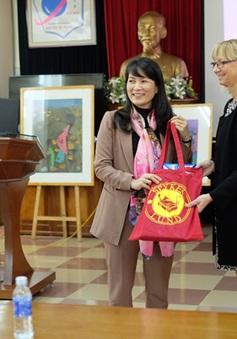Trường Nguyễn Tất Thành tăng cường hợp tác với Thuỵ Điển