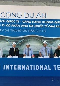 Khởi công dự án nhà ga hành khách quốc tế Cam Ranh