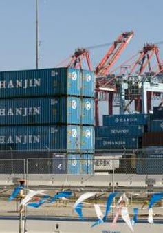 Vụ phá sản của Hanjin gây xáo trộn thương mại toàn cầu