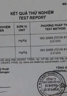 Không tìm thấy ADN của bò trong 2 mẫu bò viên của Việt Sin