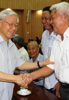 Ban Bí thư gặp mặt lãnh đạo cấp cao nghỉ hưu khu vực phía Nam