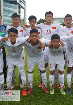 U14 Việt Nam chia tay Festival U14 châu Á bằng thắng lợi 8-0 trước Singapore