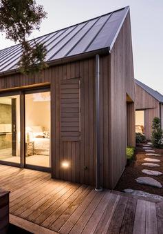Cận cảnh ngôi nhà gỗ sang trọng tại New Zealand