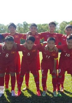 U14 Việt Nam giành chiến thắng cách biệt 5 bàn trước Brunei tại Festival U14 châu Á