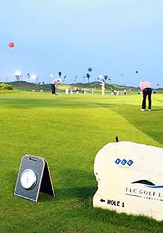 Hàng loạt golfer thử sân trước 'giờ G' giải đấu 25 tỷ đồng