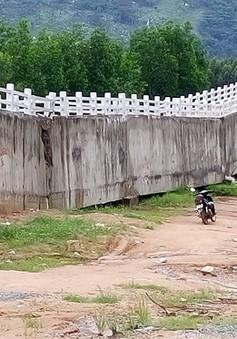 Bình Thuận: Công trình thủy lợi 119 tỉ đồng sập nặng