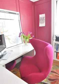 Tạo điểm nhấn cho không gian nhà ở bằng gam màu hồng
