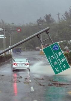 Bão Meranti gây mưa lớn ở tỉnh Phúc Kiến (Trung Quốc)