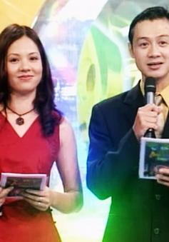 Ảnh độc cách đây hơn 10 năm của bộ đôi MC Anh Tuấn - Diễm Quỳnh