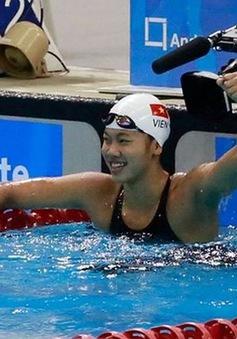"""""""Tiên cá"""" Ánh Viên giành HCB tại giải bơi hàng đầu của Mỹ"""
