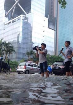 Lượng mưa tại Hà Nội ngày 24/5 lớn nhất trong 10 năm