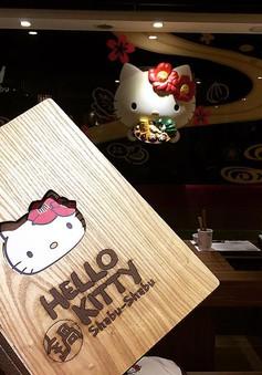 Khám phá nhà hàng Hello Kitty siêu dễ thương ở Đài Loan