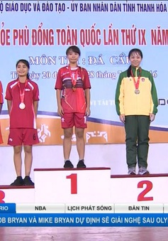 Hội khỏe phù đổng toàn quốc 2016: Kết thúc 8 môn thi đấu đầu tiên tại Thanh Hóa