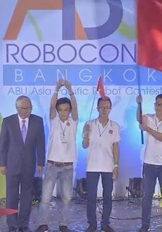 Đội tuyển Robocon Việt Nam dừng bước tại tứ kết ABU Robocon 2016
