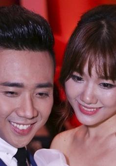 Vừa về Việt Nam, Hari Won được Trấn Thành cầu hôn
