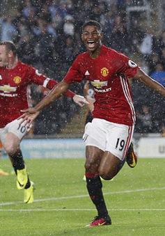 VIDEO Rashford ghi bàn thắng muộn, Man Utd thắng hú vía phút bù giờ