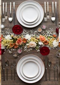 21 phong cách trang trí bàn tiệc ấn tượng