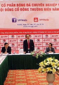 VPF dự kiến dành hơn 30 tỉ đồng hỗ trợ các CLB và LĐBĐVN