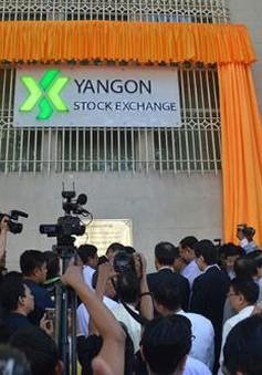 Thị trường chứng khoán Myanmar chính thức giao dịch