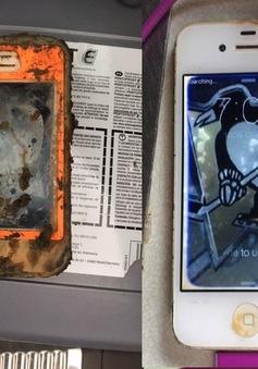 """iPhone 4 vẫn """"sống nhăn"""" sau khi bị bỏ quên dưới đáy hồ"""