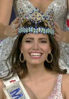 Nhan sắc rạng rỡ của tân Hoa hậu Thế giới 2016