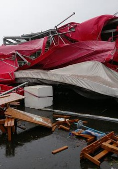 Bão Megi đổ bộ Đài Loan (Trung Quốc), ít nhất 30 người bị thương