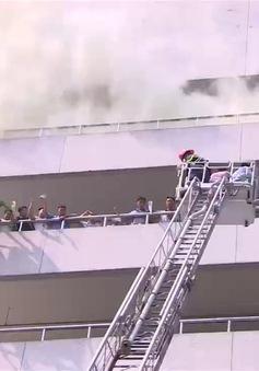Chữa cháy, cứu người tại tòa nhà cao nhất Việt Nam diễn ra như thế nào?