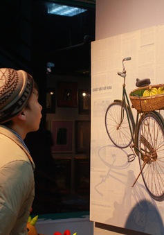 Sống lại phong tục mua tranh Tết tại Chợ tranh Tết đương đại lớn nhất Việt Nam