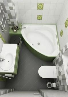 11 ý tưởng thiết kế thông minh cho phòng tắm nhỏ