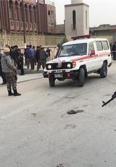 Đánh bom liều chết tại Afghanistan, hơn 60 người thương vong