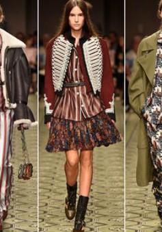 Du hành thời gian cùng show thời trang mới của Burberry